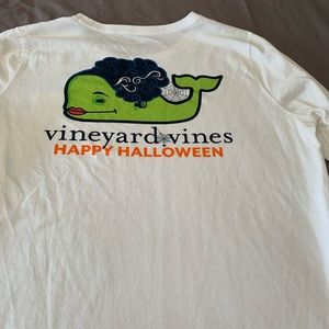 Ladies Halloween Vineyard Vines long sleeve shirt.